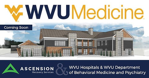 Ascension and WVU Medicine (WVU Hospitals and WVU Department of Behavioral Medicine and Psychiatry) is bringing a new residential drug and alcohol treatment center to Morgantown